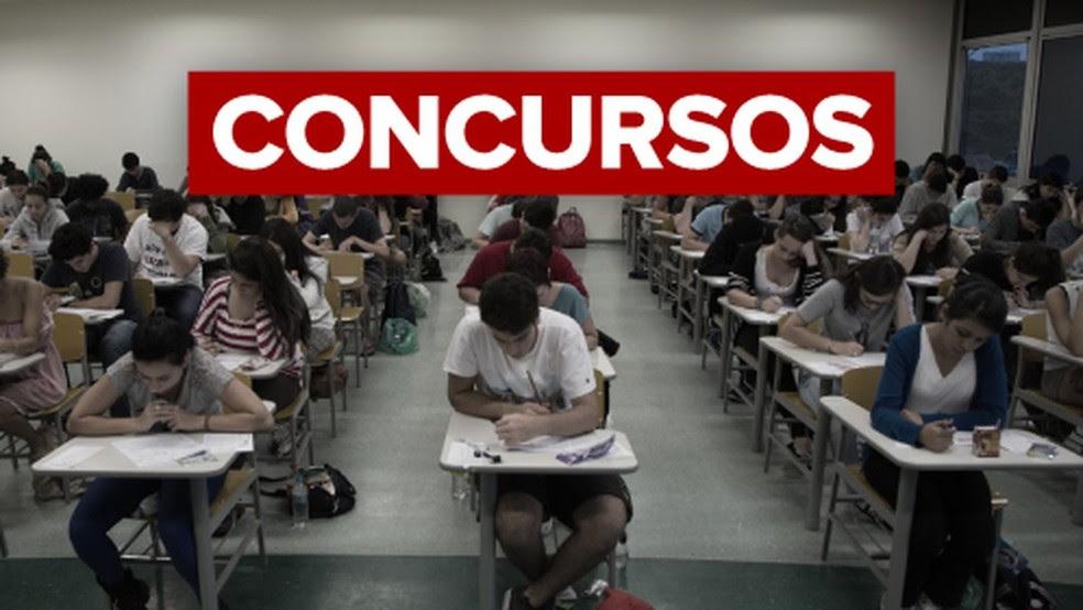 Concurso público — Foto: Divulgação / G1
