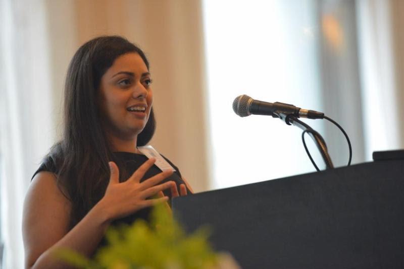 Zara Atal addresses WIT audience