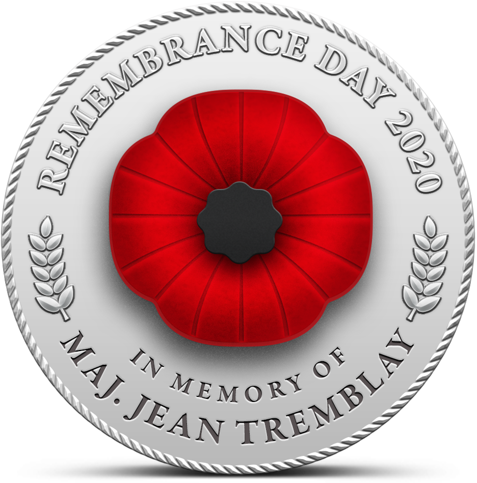 Remembrance Day - Poppy Badge - 2020 Front EN