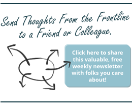 Share Thoughts from the Frontline with a friend or colleague