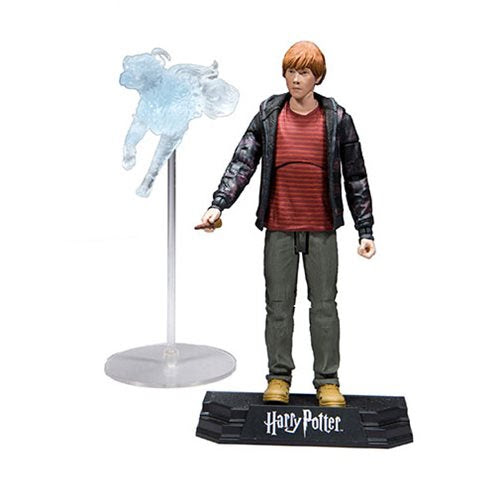 """Image of Harry Potter 7"""" Action Figure Series 1 (Deathly Hallows) - Ron Weasley"""
