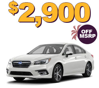 2019 LEGACY 2.5i LIMITED $2900 OFF MSRP
