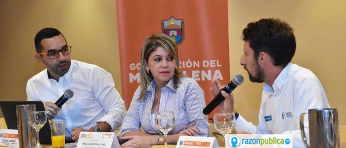 Alcaldesa Santa Marta