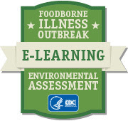 Image of e-learning on Environmental Assessment of Foodborne Illness Outbreaks logo