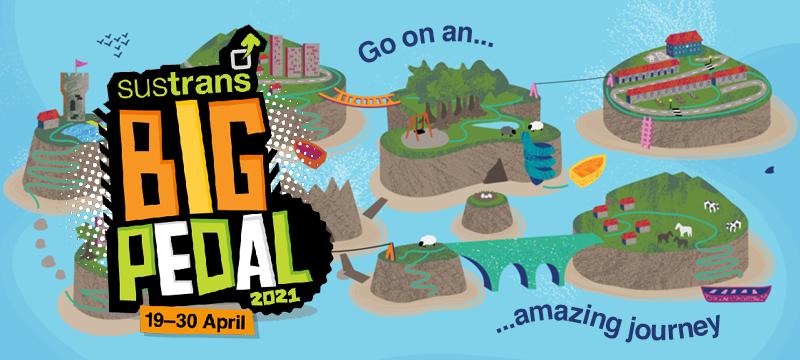 Big Pedal 2021 logo and graphics