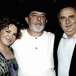 Marisa Letícia, Lula e José Carlos Bumlai (Foto: Divulgação) | Marisa Letícia, Lula e José Carlos Bumlai (Foto: Divulgação)
