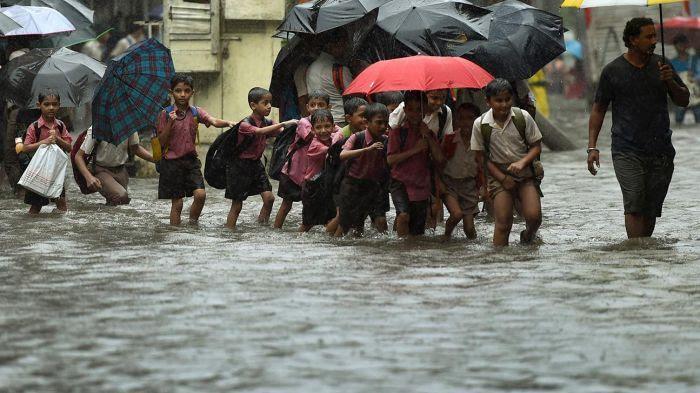 Inondations à Mumbai