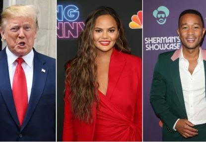 Twitter melts down after President Trump called John Legend a