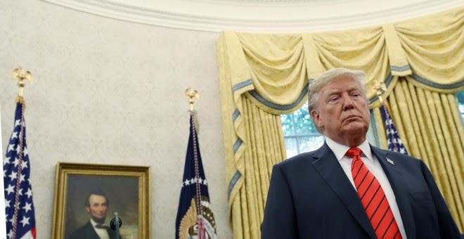 El presidente de EEUU, Donald Trump. - REUTERS