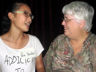 Pan  Yanlin with Betty Cutts