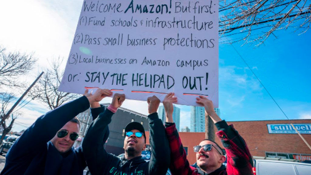 Amazon's New NYC and DC Headquarters Bilked the Cities