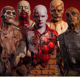 Zombie Busts