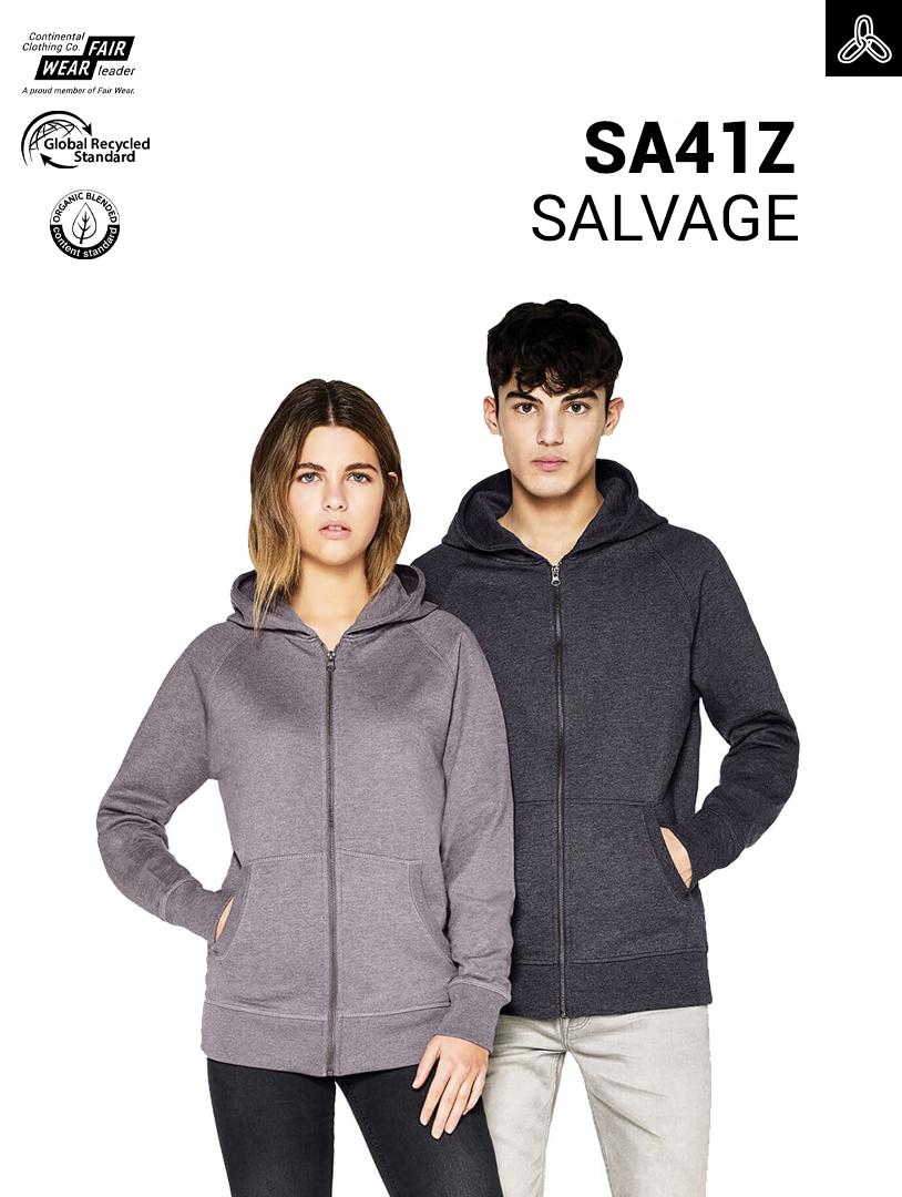 Salvage SA01 T-shirt = 5 plastic bottles