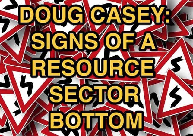 Signs of Resource Bottom