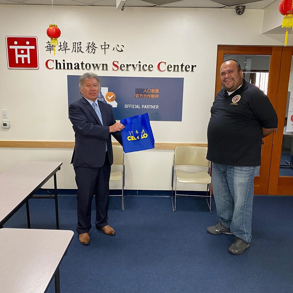 Chinatown Service Center Receives Masks 4-2-2020