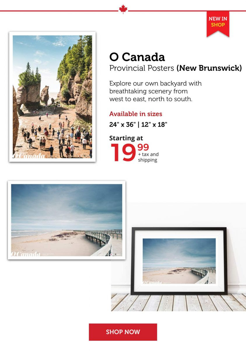 O Canada Posters