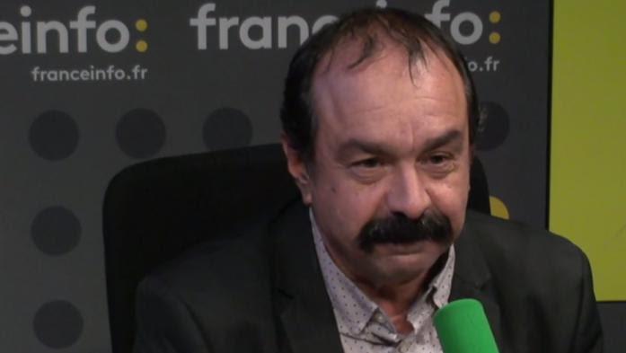 """VIDEO. Loi travail : """"Nous sommes inquiets, on nous occupe par des réunions"""", explique Philippe Martinez"""