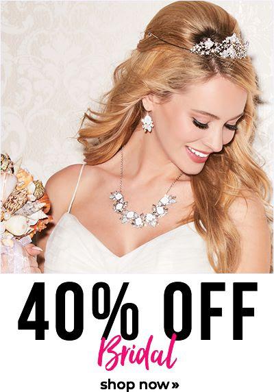 40% off bridal