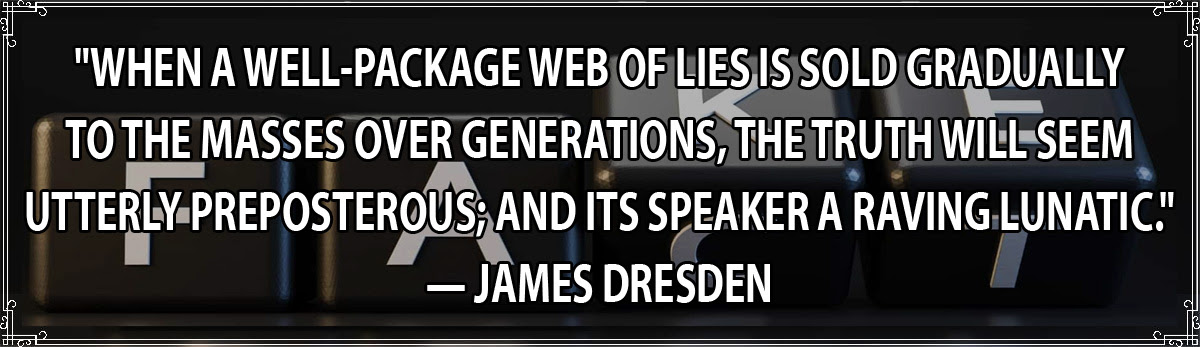 Fake-Fact Dresden Quote