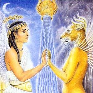 Inanna și Erishigal: Întâlnire umbra de tine însuți