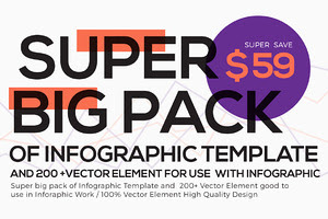 Super Big Pack of Infographic