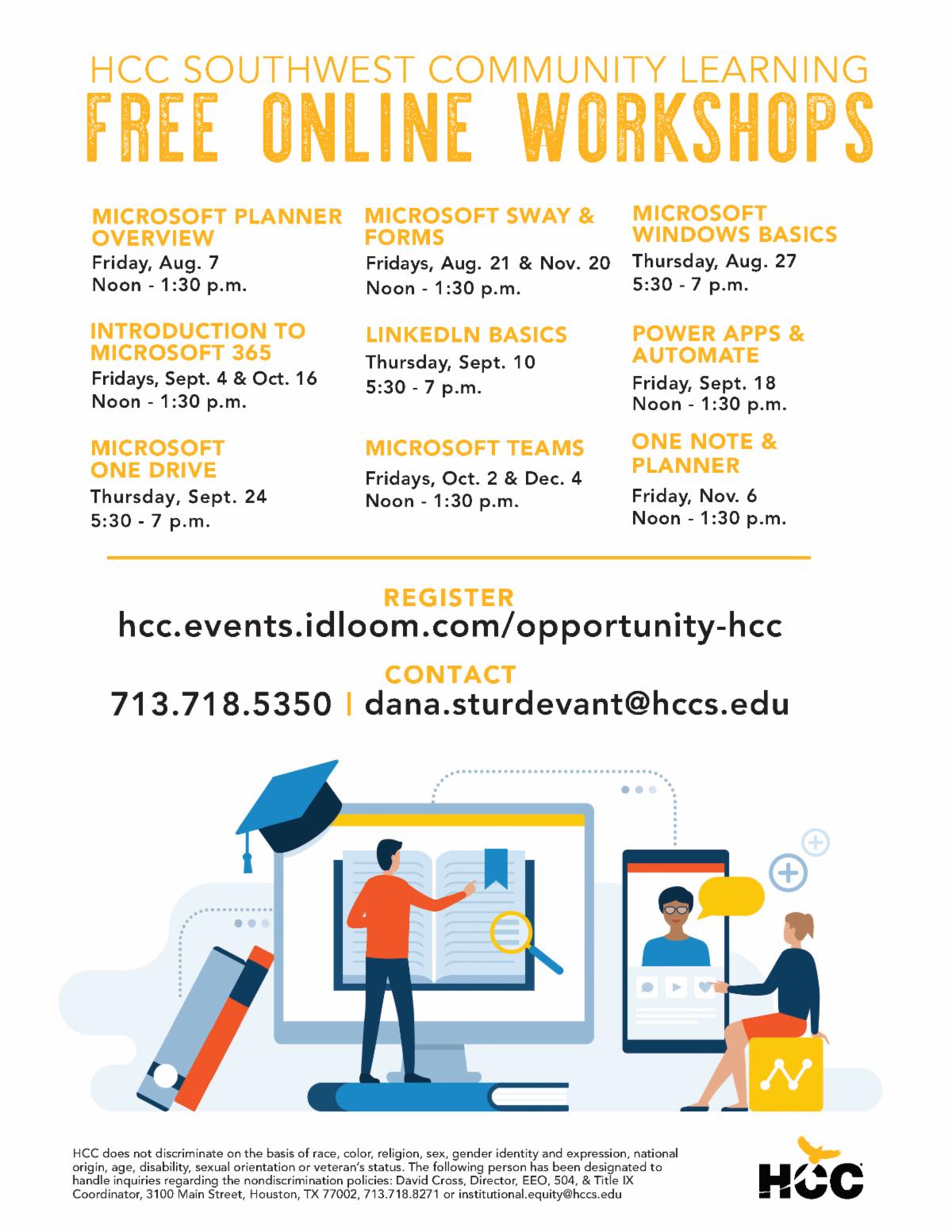 HCC - Office of Entrepreneurial Initiatives - September 2020 Newsletter 13