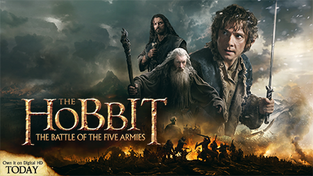 The Hobbit The Battle of the Five Armies giveaway (Ends 3/30/15)