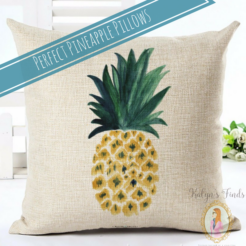 Perfect Pineapple Pillow