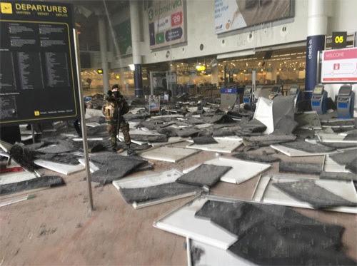 Bỉ, Brussels, khủng bố, nổ ở sân bay,bí mật