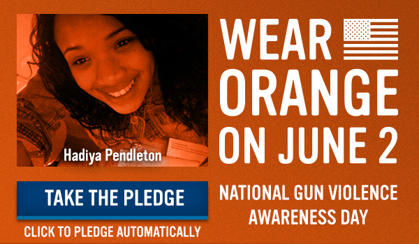 Wear Orange on June 2: Take the Pledge