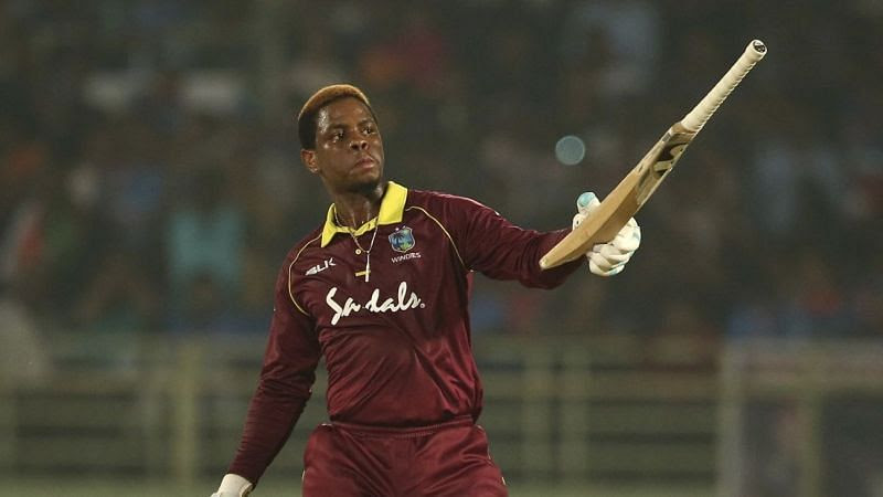 Shimron Hetmyer scored his first ODI century against India.