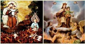virgen del carmen nuestra senora salir del purgatorio privilegio sabado