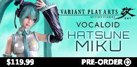 PLAY ARTS KAI VARIANT MIKU HATSUNE