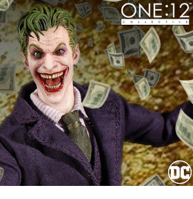 ONE:12 COLLECTIVE JOKER FIGURE