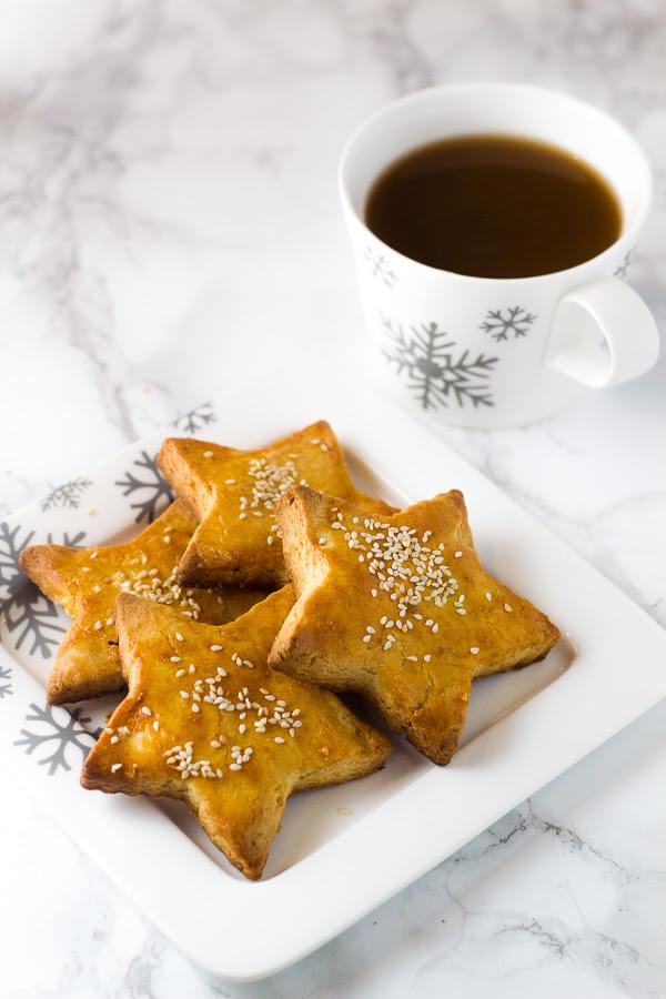 Greek Koulourakia Butter Cookies