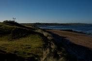 Doughmore Bay, seen from a Trump Organization golf club near Doonbeg, Ireland.