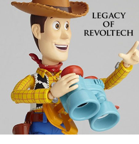 TOY STORY LEGACY OF REVOLTECH LR-045 WOODY