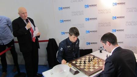 Silverio Martínez Fernández vs. Magnus Carlsen