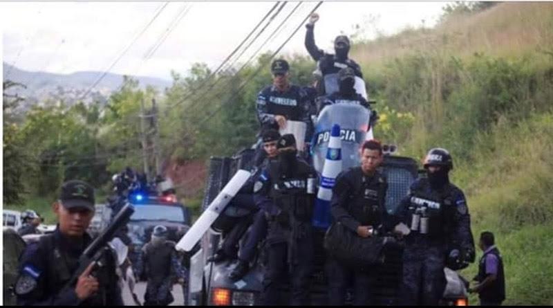 Honduras policías