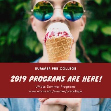Summer 2019 Programs