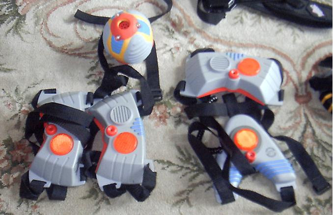 toys from the 90s - Laser Challenge