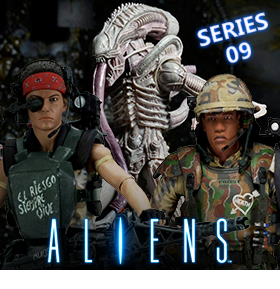 ALIENS 7 INCH FIGURES SERIES 09