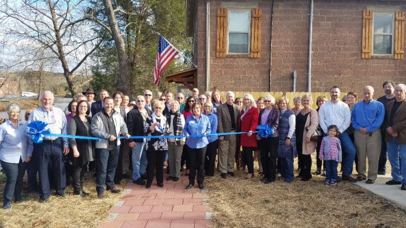 McCaysville Visitor Center Ribbon Cutting
