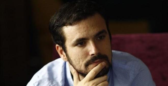 Alberto Garzón./ EUROPA PRESS