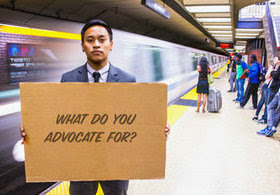 What do you advocate for?