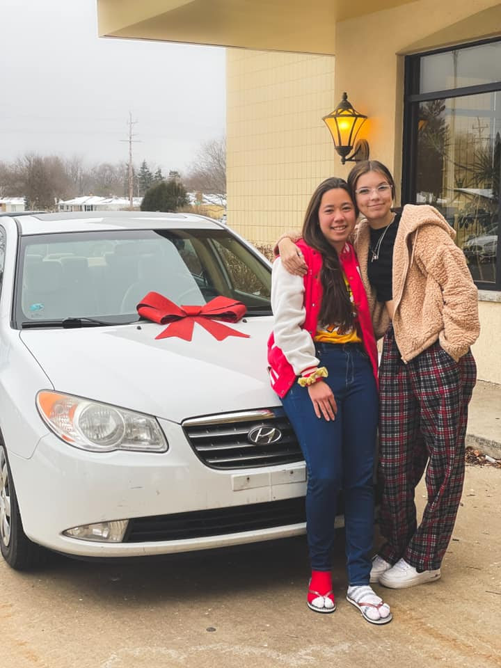 This Chick-fil-a employee gives away car after winning it at a company party