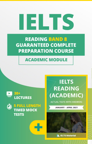 Comprehensive IELTS Reading (Academic) Band 8 Preparation Course