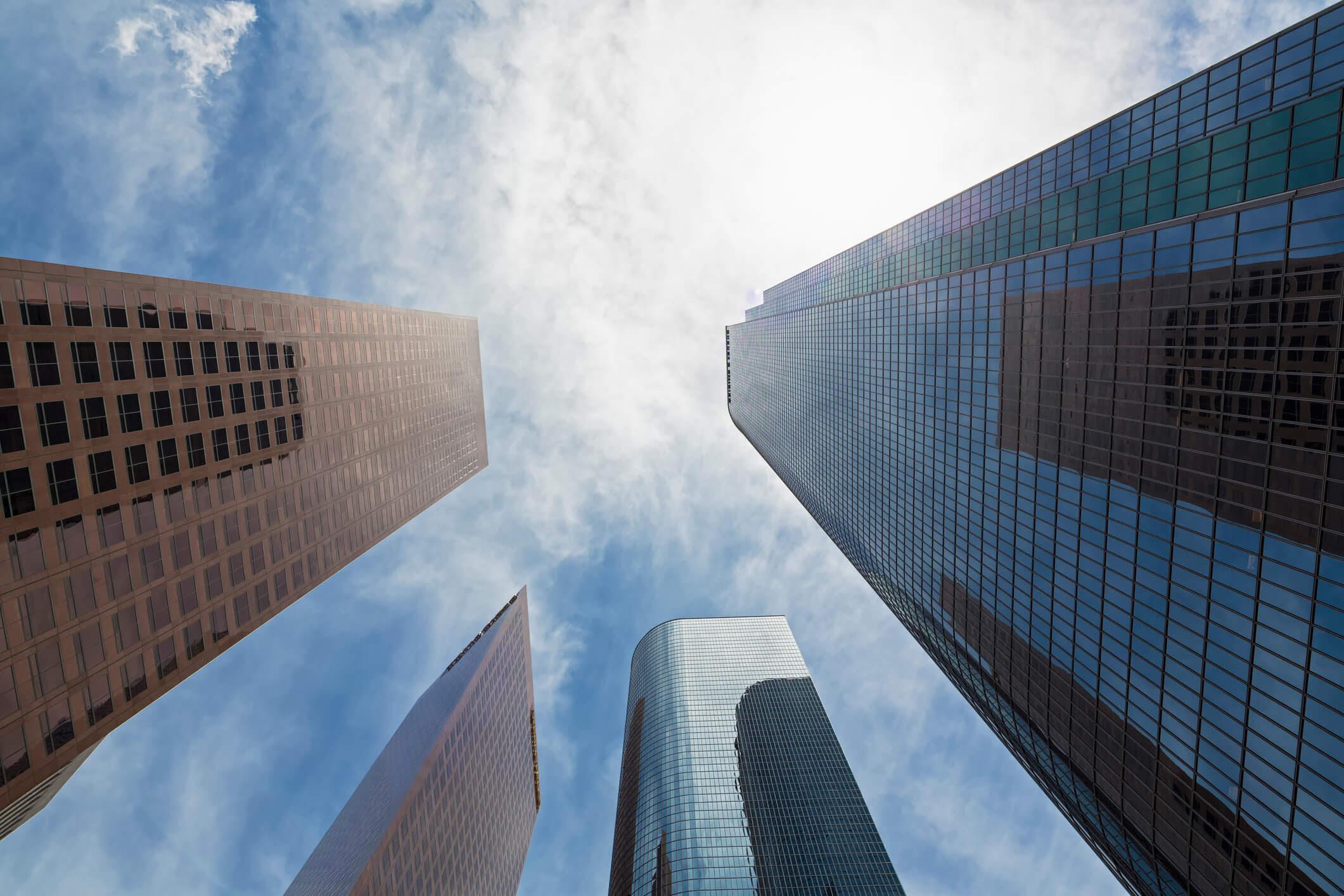 Skyscrapers in Charlotte