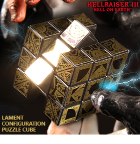 HELLRAISER III EARTH LAMENT PUZZLE CUBE