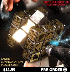 HELLRAISER III EARTH LAMENT PUZZLE CUBE